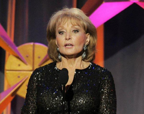 Barbara Walters is a multiple Emmy winner and a frequent also-ran.