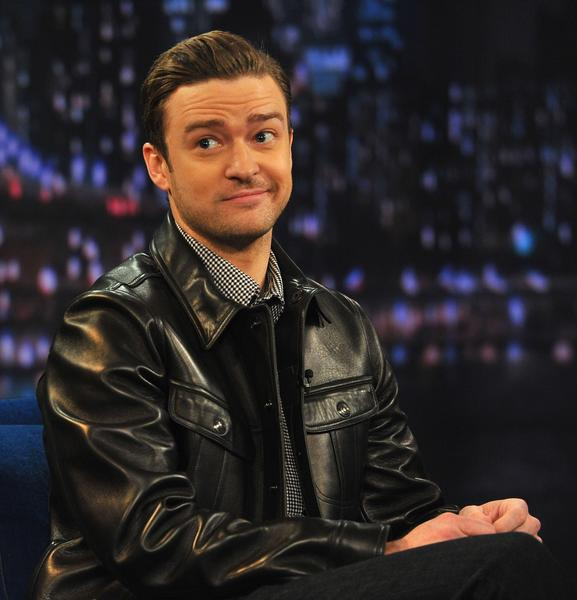 "Justin Timberlake visits ""Late Night With Jimmy Fallon."""