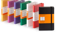The Moleskine notebook is a ubiquitous tool of the trade in writing and art circles. I've purchased a few dozen over the last few years. From the little tiny ones that are not much bigger than a credit card and fit in my shirt pocket; to the big ones that are about the size of an old LP cover. When my sister asked me to officiate at her wedding, I used the biggest notebook in the Moleskine family to hold the script I wrote for the ceremony.