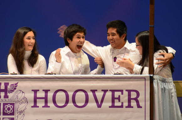 Hoover team wins Scholastic Bowl