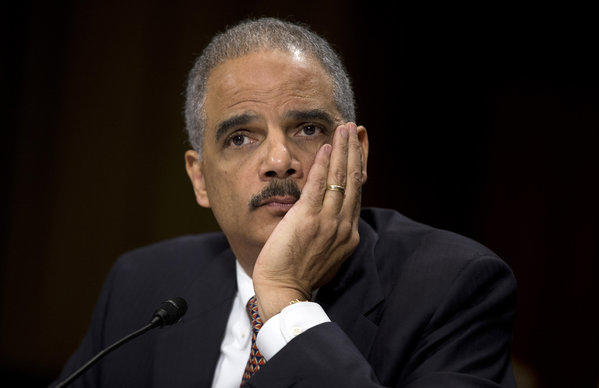 Justice Department's Eric Holder