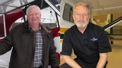 The Federal Aviation Administration says Dean Eichholz of Soldotna (left) and Mark Madden of Anchorage (right) are two of its four national General Aviation Award recipients for 2013. Eichholz was named Certified Flight Instructor of the Year, while Madden was named FAA Safety Team Representative of the Year.