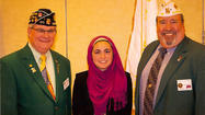 Attiya Latif of Smithsburg High School won the state title in the Maryland American Legion High School Oratorical Contest on March 3 at Towson University.