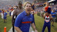 Coach Will Muschamp's energy and attention to detail are two of the qualites that have helped him become the head coach at the University of Florida.