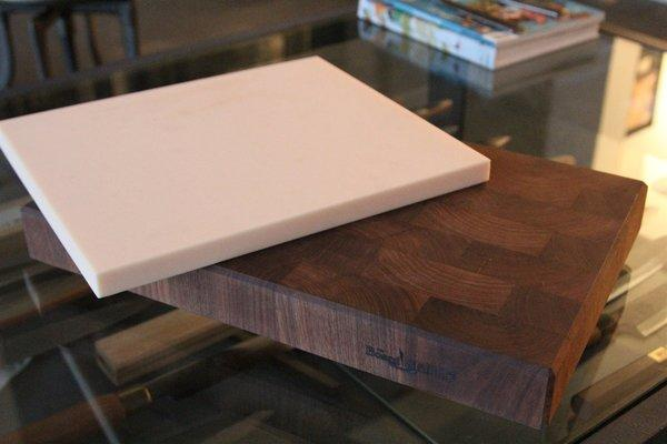 Cutting boards at Japanese Knife Imports in Venice