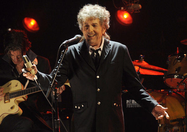 Bob Dylan is the first rocker accepted into the American Academy of Arts and Letters.