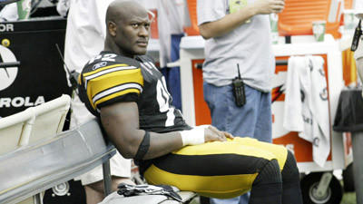 James Harrison's agent talks with Ravens
