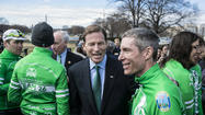 WASHINGTON — Twenty-six cyclists arrived Tuesday at the Capitol after a four-day ride from Newtown, bringing a plea for tighter gun limits to a reluctant Congress.