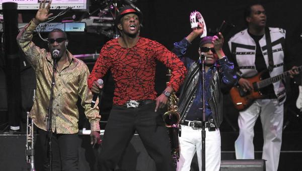 Kool & the Gang performing last summer.
