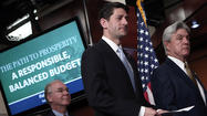 House Budget Chairman Paul Ryan Unveils House Republicans' FY2014 Budget Resolution