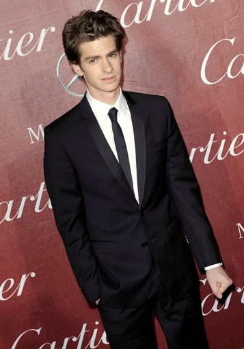 "Andrew Garfield of ""The Social Network"" and ""Never Let Me Go."""