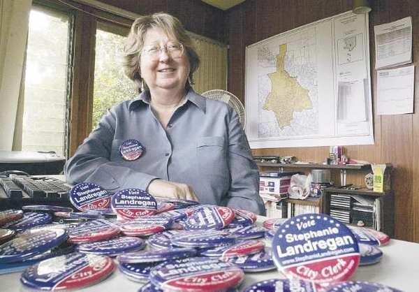 Stephanie Landregan is running for City Clerk.