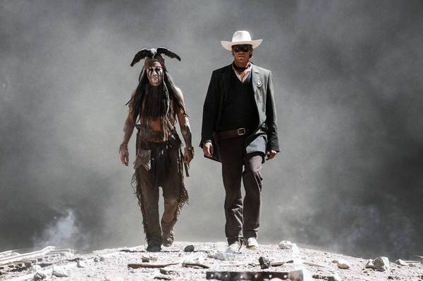 "Disney's upcoming movie ""The Lone Ranger"" was filmed mainly in New Mexico, with only a few scenes shot in Arizona. Above, a scene from the film."
