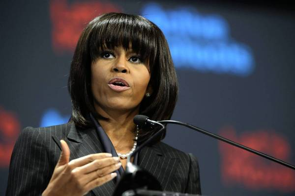 First Lady Michelle Obama is among the public figures whose personal and financial information was breached.