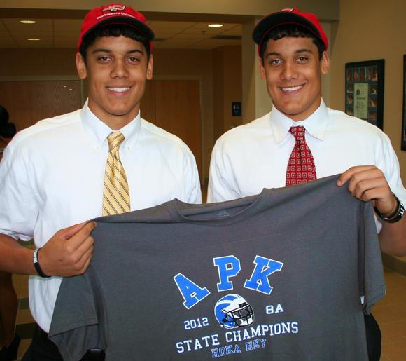 Kaleb and Kelby Bevelle of Apopka, photo