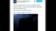 Samsung hypes Galaxy S IV launch with teaser pic, flash mob video