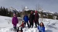 Jackson, WY –Fourteen elementary school students traveled from Wheaton, IL to Jackson Hole on March 3rd for a week of outdoor exploration.  The students stayed at the Jackson Campus of Teton Science Schools and spent the week exploring Grand Teton National Park.