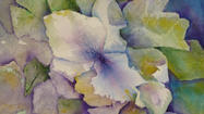 <strong>WHAT:</strong> Hyder Gallery Center for Fine Art will host a closing reception of an exhibit of watercolor works by Faye Tambrino this weekend.