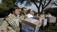 The Boy Scouts of America is surveying adult members about their attitude toward gays in Scouting as the group's leaders consider potentially lifting their ban on gay membership later this spring.