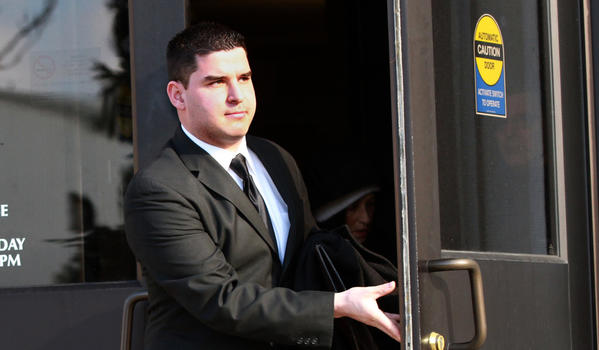 Former NIU Police officer Andrew Rifkin, 25, is charged with felony criminal sexual assault in connection with an October 2011 incident involving an NIU freshman. Rifkin pleaded not guilty this morning.