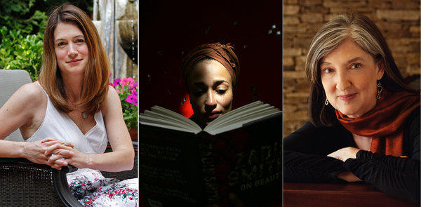 Gillian Flynn, Zadie Smith and Barbara Kingsolver
