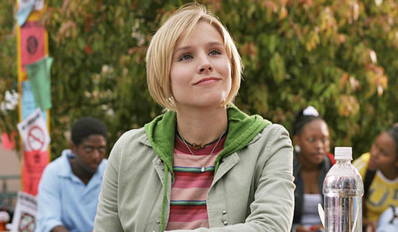 "Kristen Bell in ""Veronica Mars"" during the show's first season."