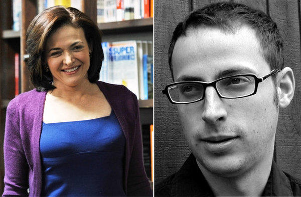 "Facebook executive and author Sheryl Sandberg, along with statistician Nate Silver, were among the Americans nominated as ""great thinkers"" by the U.K.-based magazine Prospect."