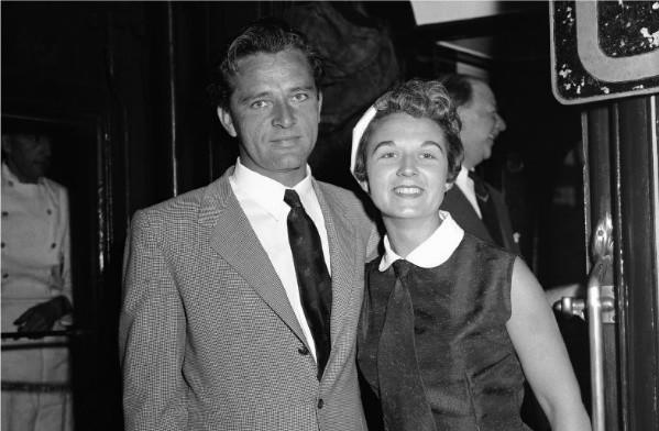 Sybil Christopher, with Richard Burton