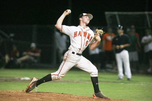 Port Orange Spruce Creek has some of the best pitching in high-school baseball in the state, including right-hander Kyle Marsh. (Joshua C. Cruey, Orlando Sentinel)