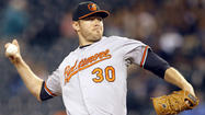 Orioles right hander Chris Tillman scheduled to throw from mound on Thursday