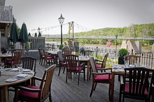 The Black Bass Hotel along the Delaware River in Lumberville will be among the participants in Restaurant Week.