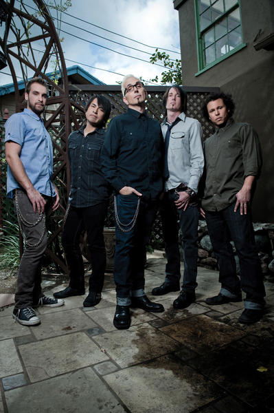 Submitted photo Everclear with frontman Art Alexakis, center, will perform Saturday at Hollywood Casino at Charles Town, W.Va.