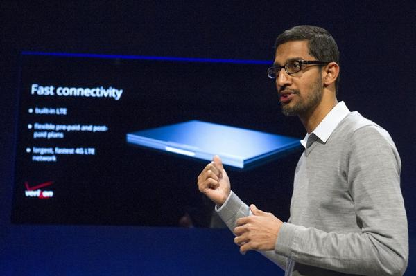 Google executive Sundar Pichai.