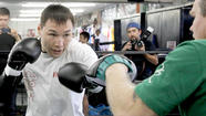 Ruslan Provodnikov was a little-known Russian boxer before he landed a sparring job against Manny Pacquiao.