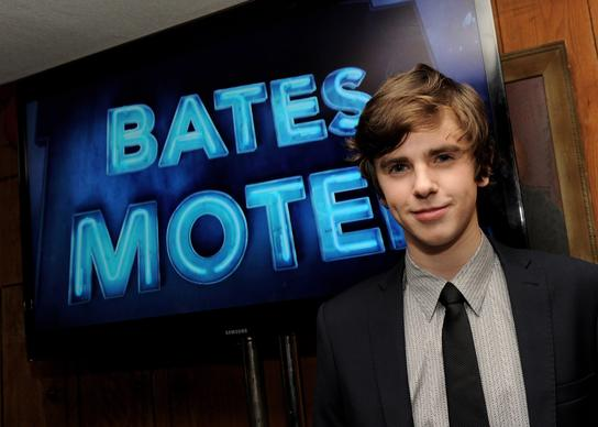 Actor Freddie Highmore plays Norman Bates in the series.