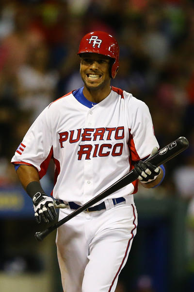 White Sox outfielder Alex Rios is playing for his native Puerto Rico in the World Baseball Classic this year. The U.S., on the other hand, has had a tough time getting its best players to participate. And that's no fun