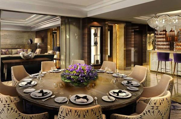 A touch of luxury in the presidential suite at Kempinski Hotel Yixing in China.