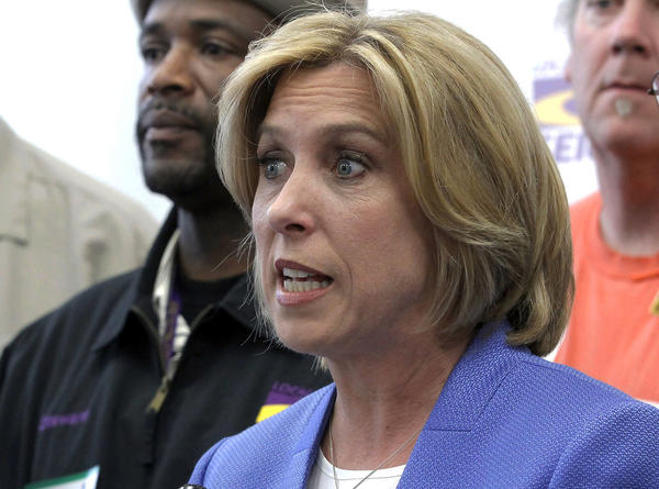 Controller Wendy Greuel is running against Councilman Eric Garcetti for mayor of Los Angeles in the May 21 runoff election.