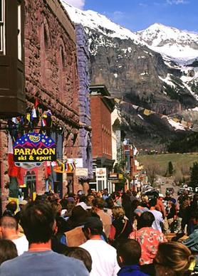 <b>Mountainfilm in Telluride</b><br> <br> The 30th Mountainfilm in Telluride, which focuses on the spirit of independent filmmaking, culture and adventure, will be held May 23 to 26 in the small Colorado town.