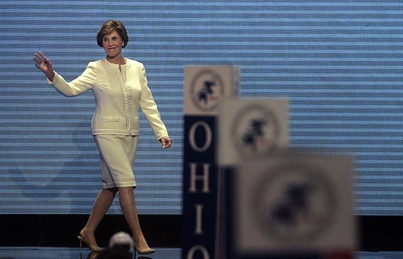 2008 Republican National Convention: Monday - First lady