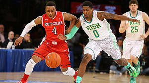 Connaughton leads Notre Dame over Rutgers