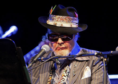 Dr. John performs at Musikfest Cafe in Bethlehem on March 13.