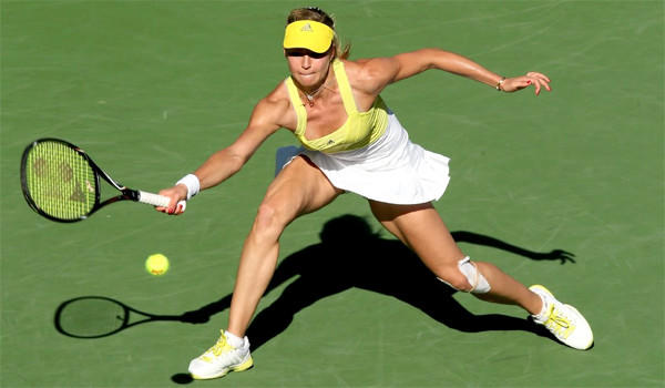 Maria Kirilenko defeated Petra Kvitova 4-6, 6-4, 6-3 at the BNP Paribas Open at Indian Wells on Wednesday.