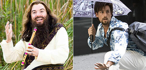 Adam Sandler, You Don't Mess with the Zohan, Mike Myers, The Love Guru