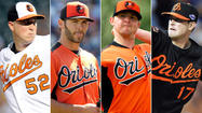 Breaking down the Orioles' competition for a fifth starter