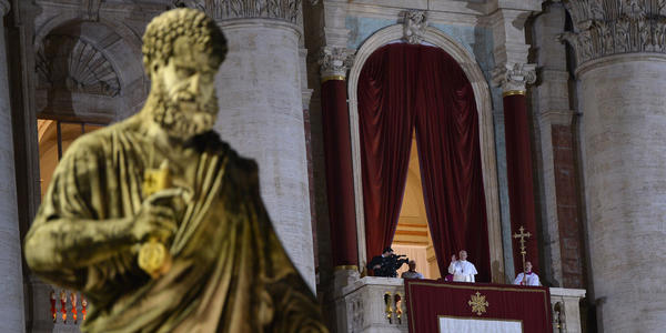 "<h2>Pope Francis</h2> <p><i>Trending on: National Twitter</i></p> <p><b>Why:</b> Pope Francis, barely 12 hours after his election, quietly left the Vatican early on Thursday to pray for guidance as he looks to usher a Roman Catholic Church mired in intrigue and scandal into a new age of simplicity and humility. Francis, the Argentinian cardinal who has become the first pope born outside Europe in 1,300 years, went to Rome's 5th-century Basilica of Santa Maria Maggiore; there he prayed before a famed icon of Mary, the mother of Jesus, which is known as the Salus Populi Romani, or Protectress of the Roman People. [ <a href=""http://www.chicagotribune.com/news/chi-pope-francis-20130314,0,849445.story"" target=""_blank"">Chicago Tribune</a> ]<br>"