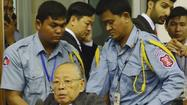 Khmer Rouge leader dies, eluding war crimes verdict