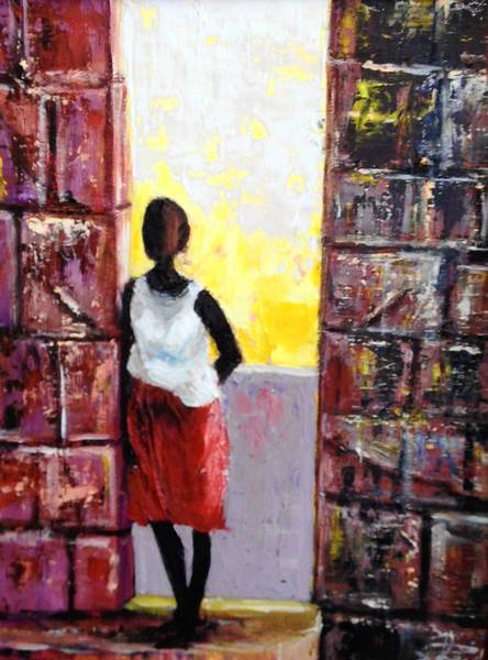 """""""Sufferer,"""" by Elrode Reid"""