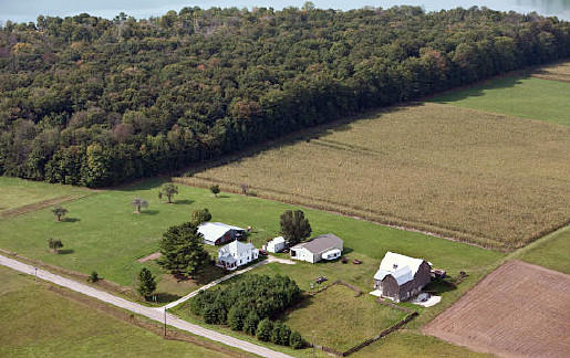Emmet County could acquire this 72-acre private farm on Walloon Lake in Resort Township for $1.2 million if it receives the necessary Michigan Natural Resources Trust Fund grant backing in 2013.