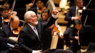John Williams to conduct Baltimore Symphony in musicians' pension fund benefit